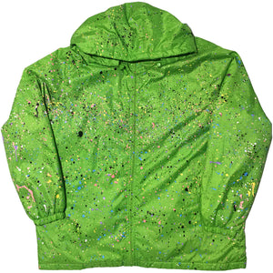 Totes Hand Splattered Green Outerwear Jacket