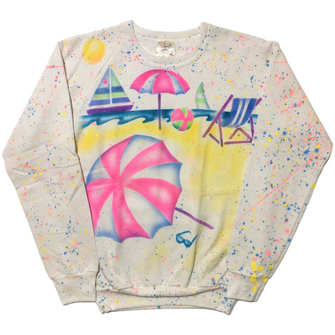Jam Jams Hand Splattered Sweater