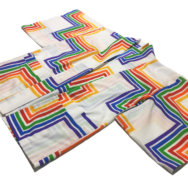 Rainbow Path Print Haori