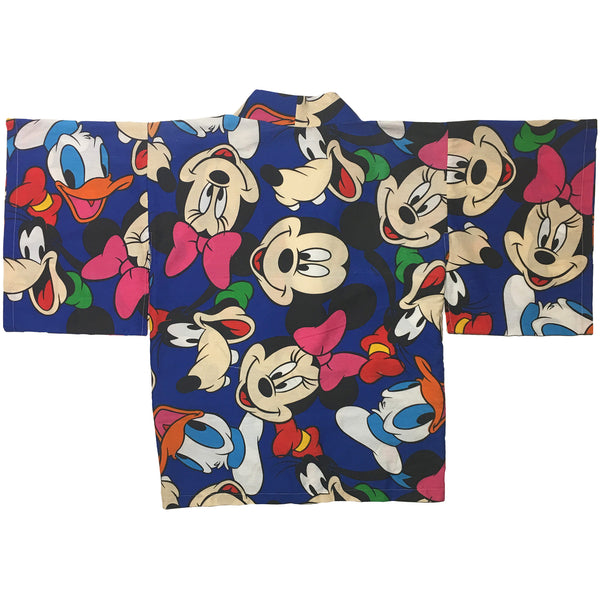 Mickey & Friends Faces Print Haori