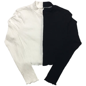 Split Long Sleeve Shirt