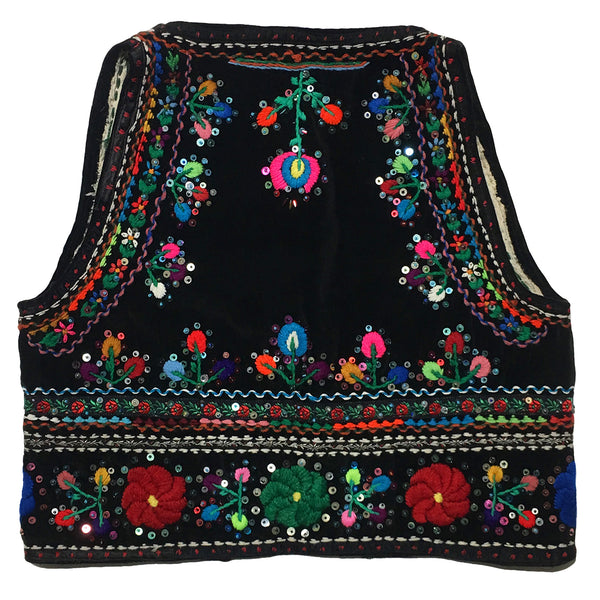 Multi-coloured Boho Vest