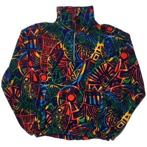 Zline Rainbow Half Zip Jacket