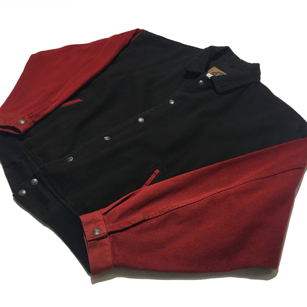 International Denim Red & Black Jacket
