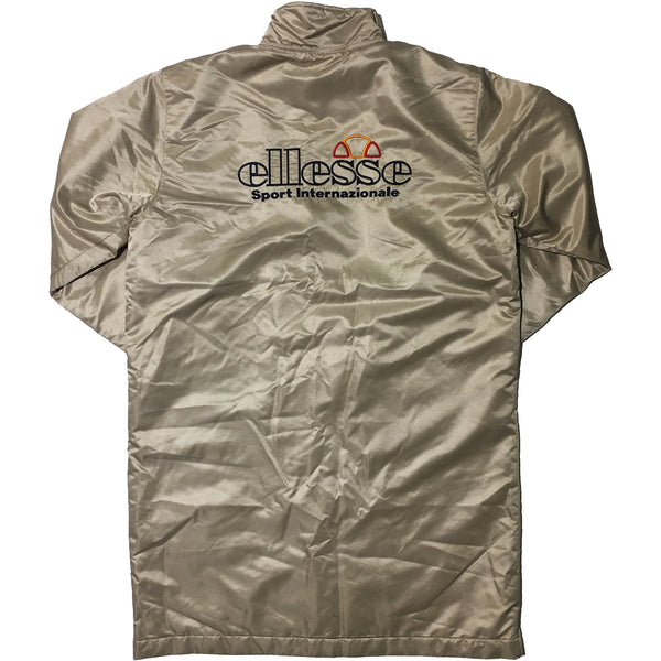 Ellesse Gold Long Jacket
