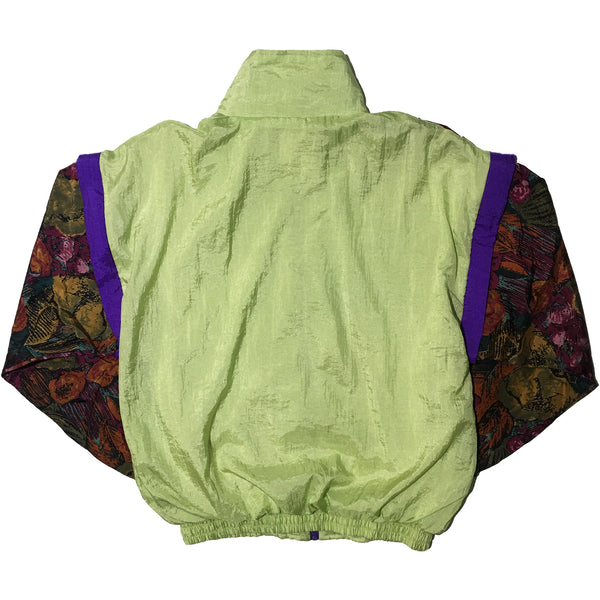 Luigi Lamberto Lime and Floral Jacket