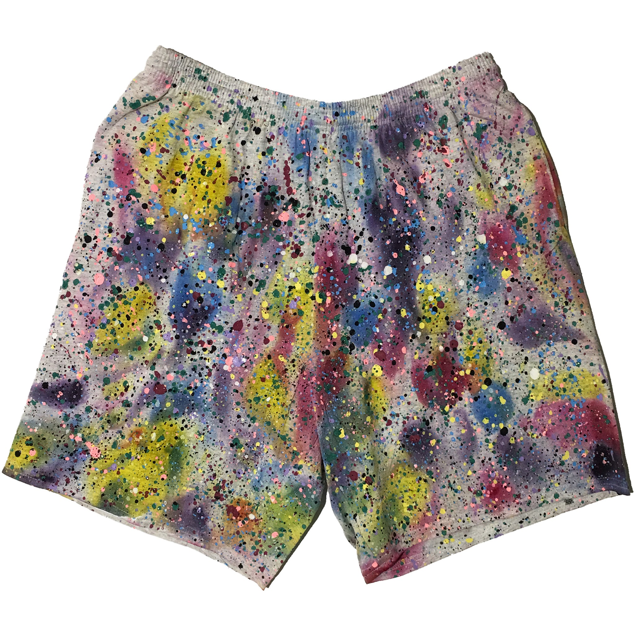 """Hand Splatter Shorts"" by Blim"