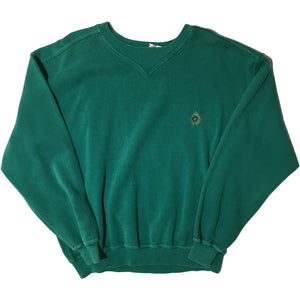 Green Crest Sweater