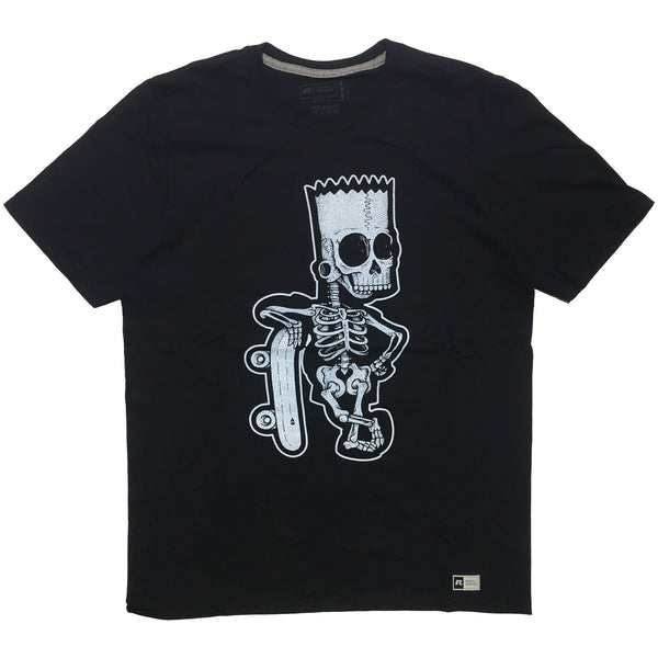 """Bare Bones Bart"" Tee by Will Blood"