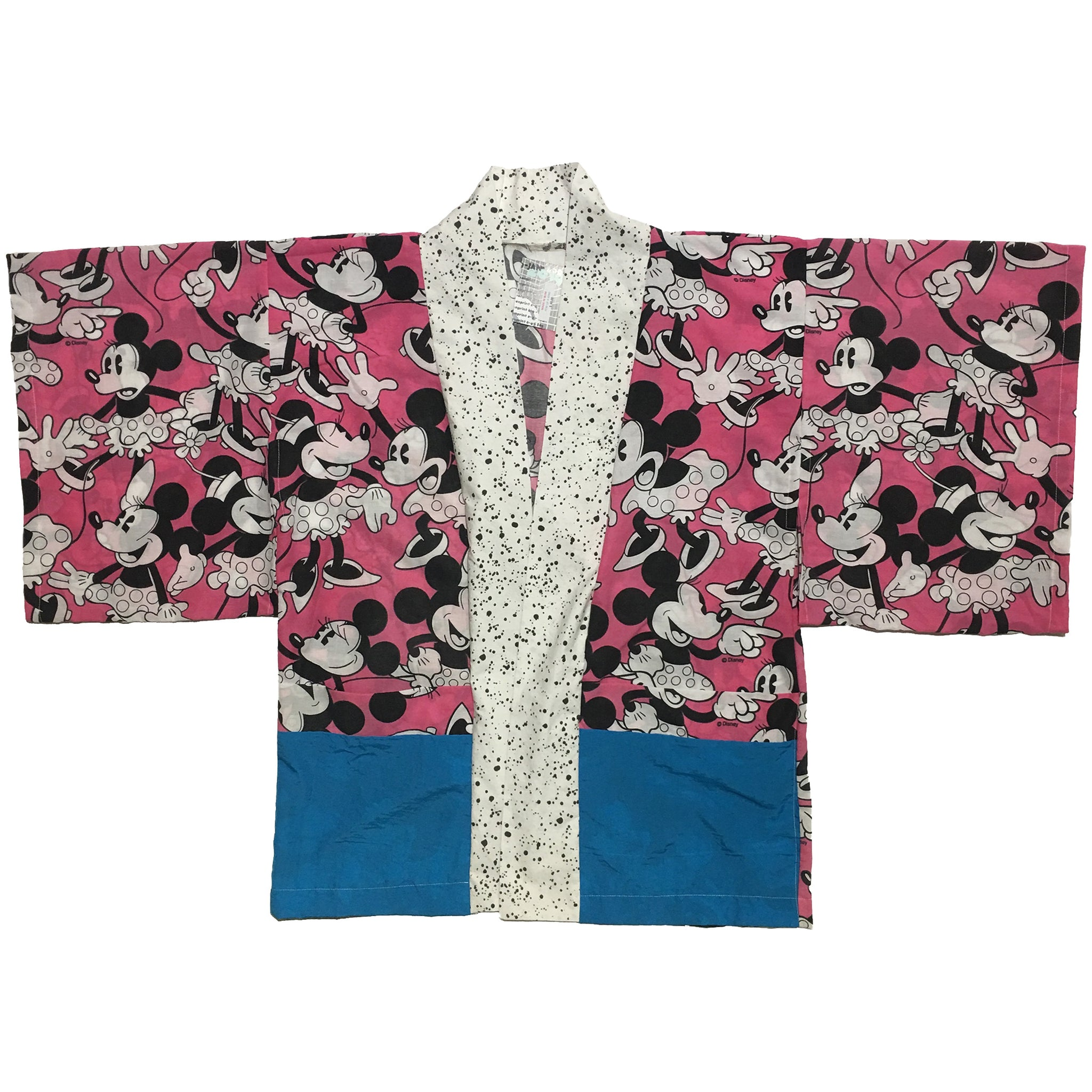 Minnie Mouse and Mini Splatter Pattern Haori