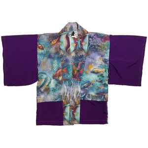 Fish Print and Purple Haori