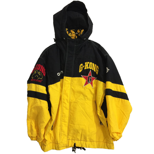 Goldwin G-Kong Black and Yellow Embroidered Jacket