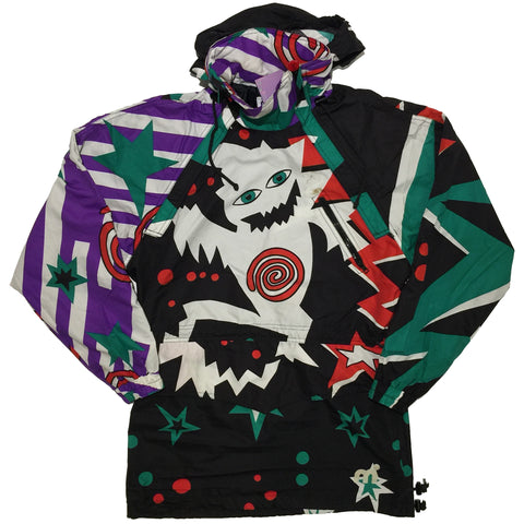 Mistral Black, White, Purple, Red, and Green Jacket