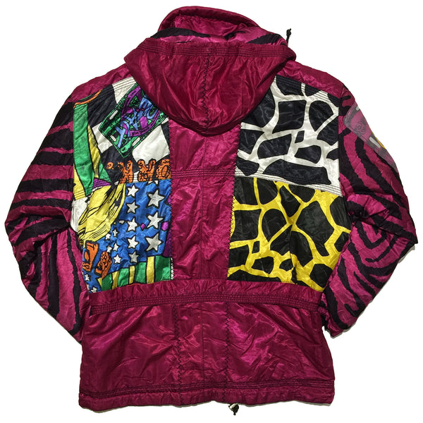 Creact Mix Pattern Pocket Jacket