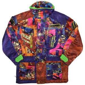 "Rare Japanese Abstract Goldwin ""Sweden"" Jacket"
