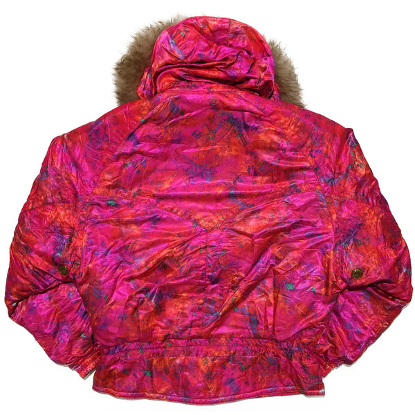 Pink Ellesse Abstract Jacket