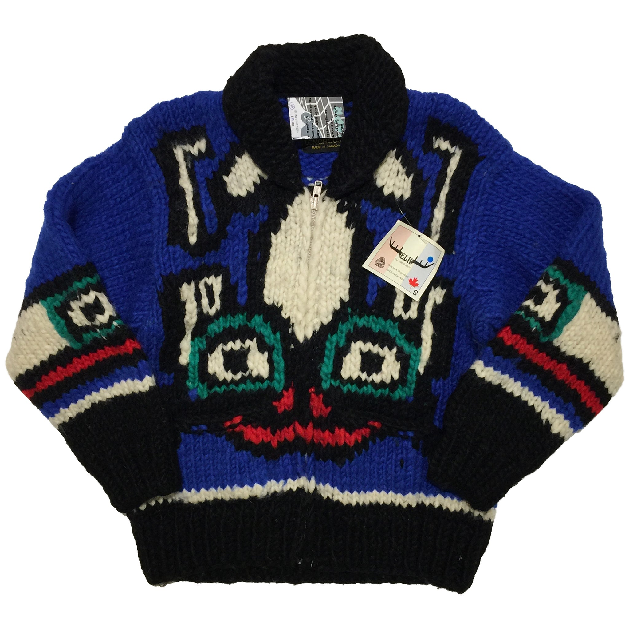 Longhouse 100% Pure Virgin Wool Sweater made in Canada