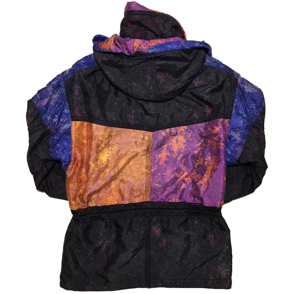 Goldwin Mix Dye Pattern Panel Jacket