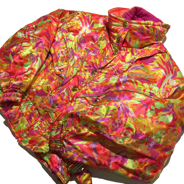 Rare Goldwin Competition Bright Floral Jacket