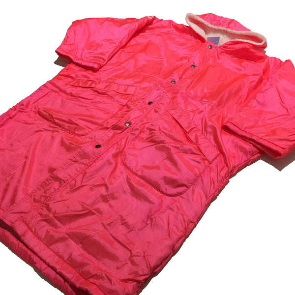 Runbird Mizuno Hot Pink Long Coat Jacket