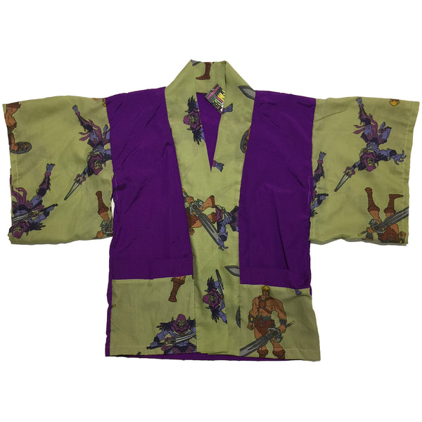 He-Man and Skeletor Print Haori