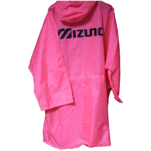 Mizuno Hot Pink Half Zip Long Rain Jacket