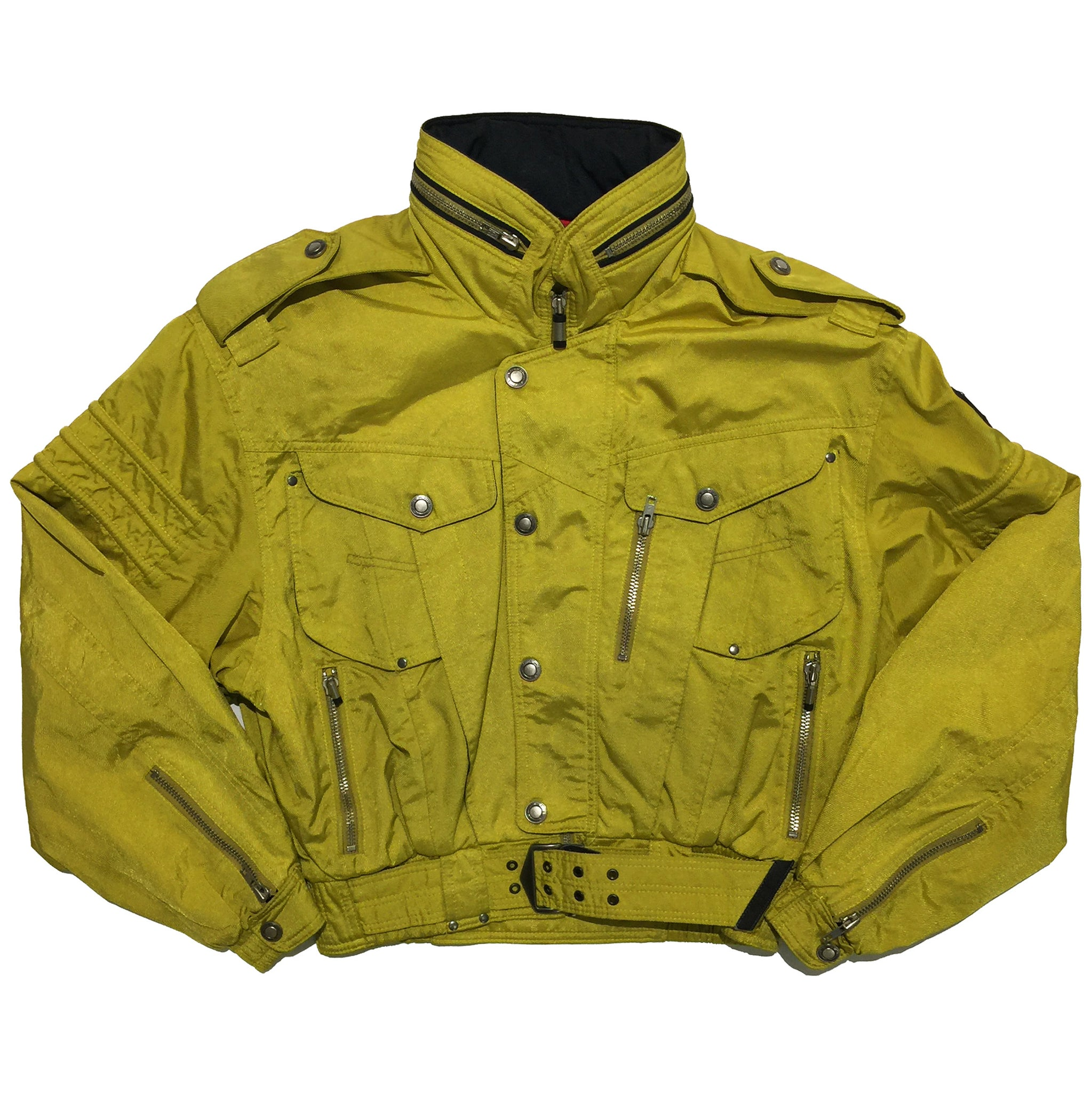 Killy Mustard Rider Style Jacket