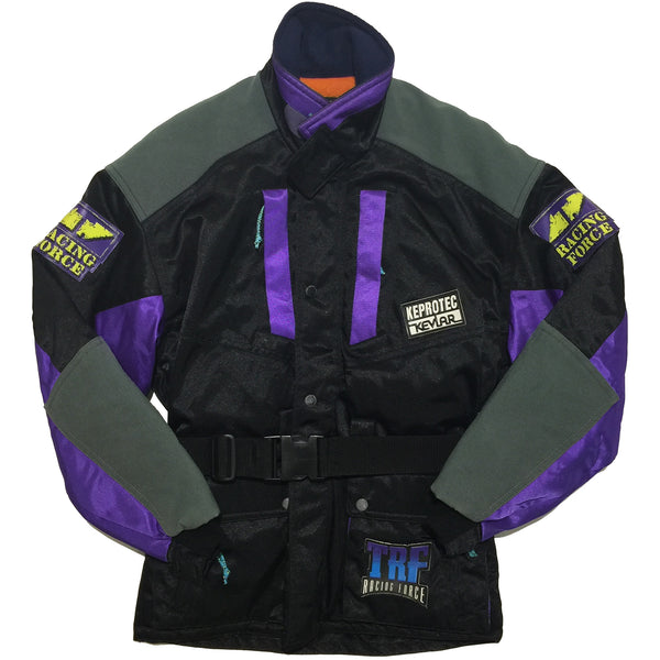 TRF Black, Grey, Purple Jacket