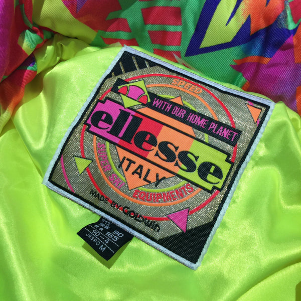 Ellesse Multi Neon and White Colour Jacket