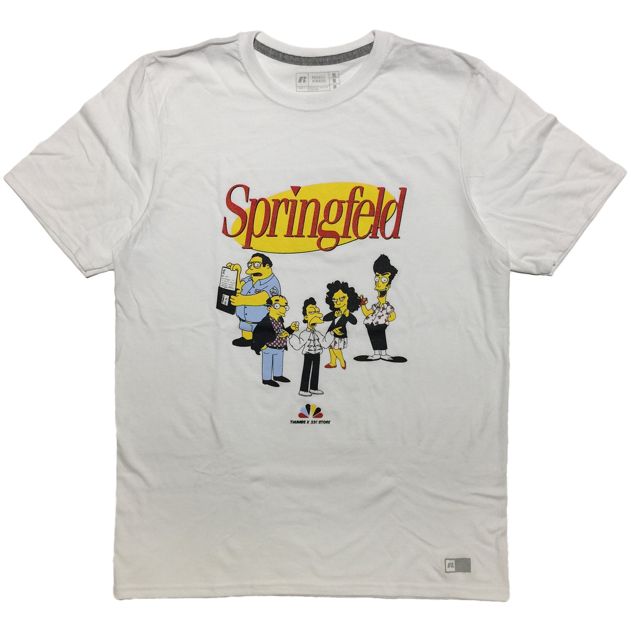 """Springfeld"" Tee by Thumbs x 33¢ Store"