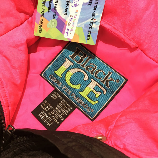 Black Ice Gore-Tex Green and Magenta Jacket