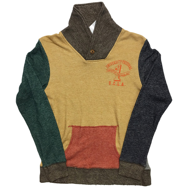 UCLA Colour Block Sweater