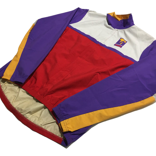 Trek USA Purple, Yellow, White Biking Jacket