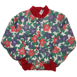 Reversible Floral and Red Jacket