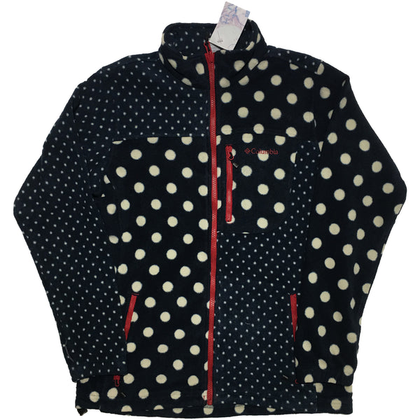 Columbia Dot Pattern Block Fleece Jacket