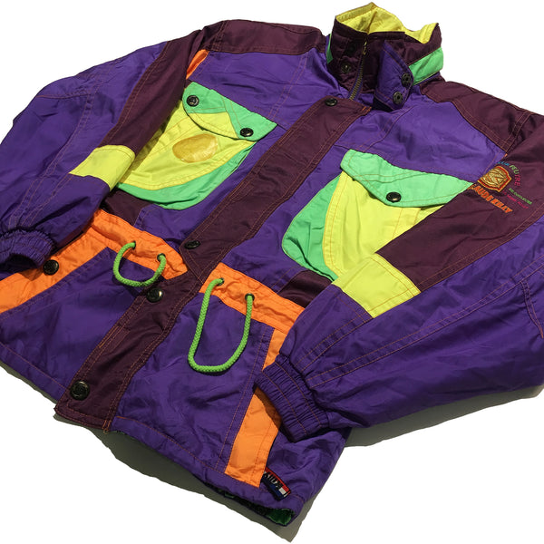Killy Purple/Green/Yellow/Orange Jacket