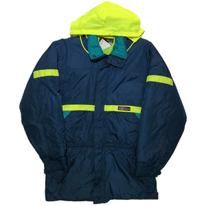 Nevica Navy Blue and Neon Yellow Jacket