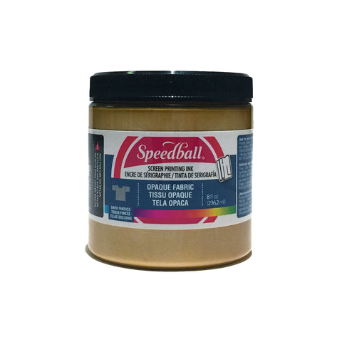 Water based Speedball Gold Ink 8oz