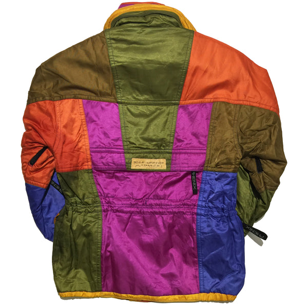 Phenix Purple, Olive, Brown, Orange, Blue Jacket