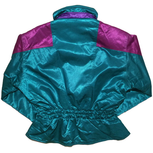 Ornament Classic Purple and Teal Jacket