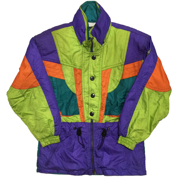 Samas Italian Spirit Green, Purple, and Orange Jacket