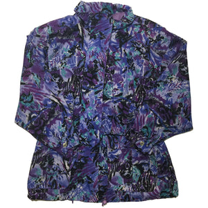 Purple and Blue Shade Jacket