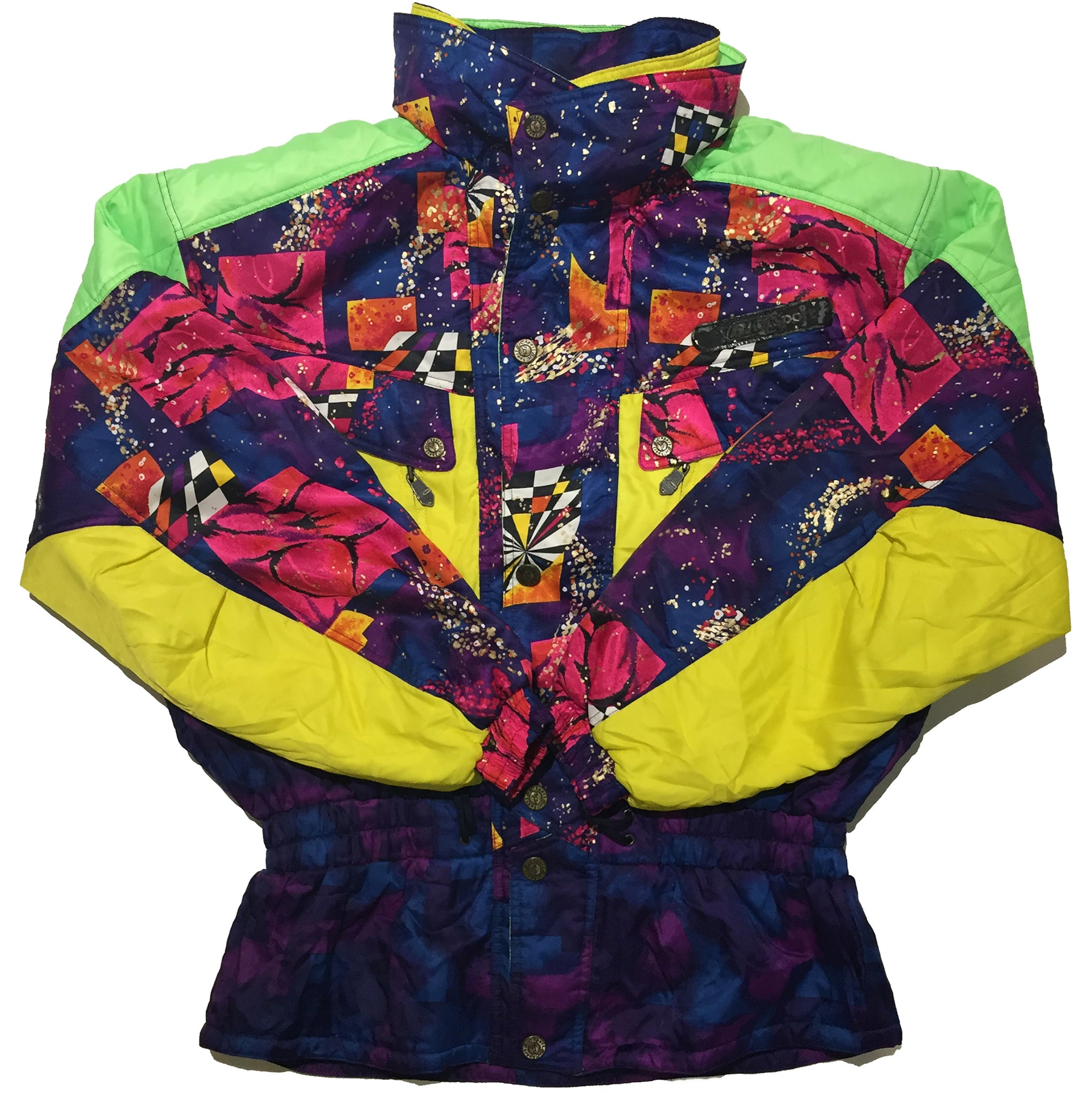 BIC Sport Green, Yellow, Purple, Blue Jacket
