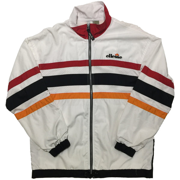 Ellesse White, Red, Black, Orange Jacket