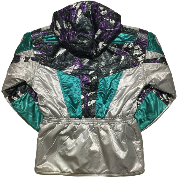 Windex Purple, Silver, Turquoise Jacket