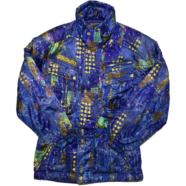 Goldwin Blue, Yellow Dot Jacket