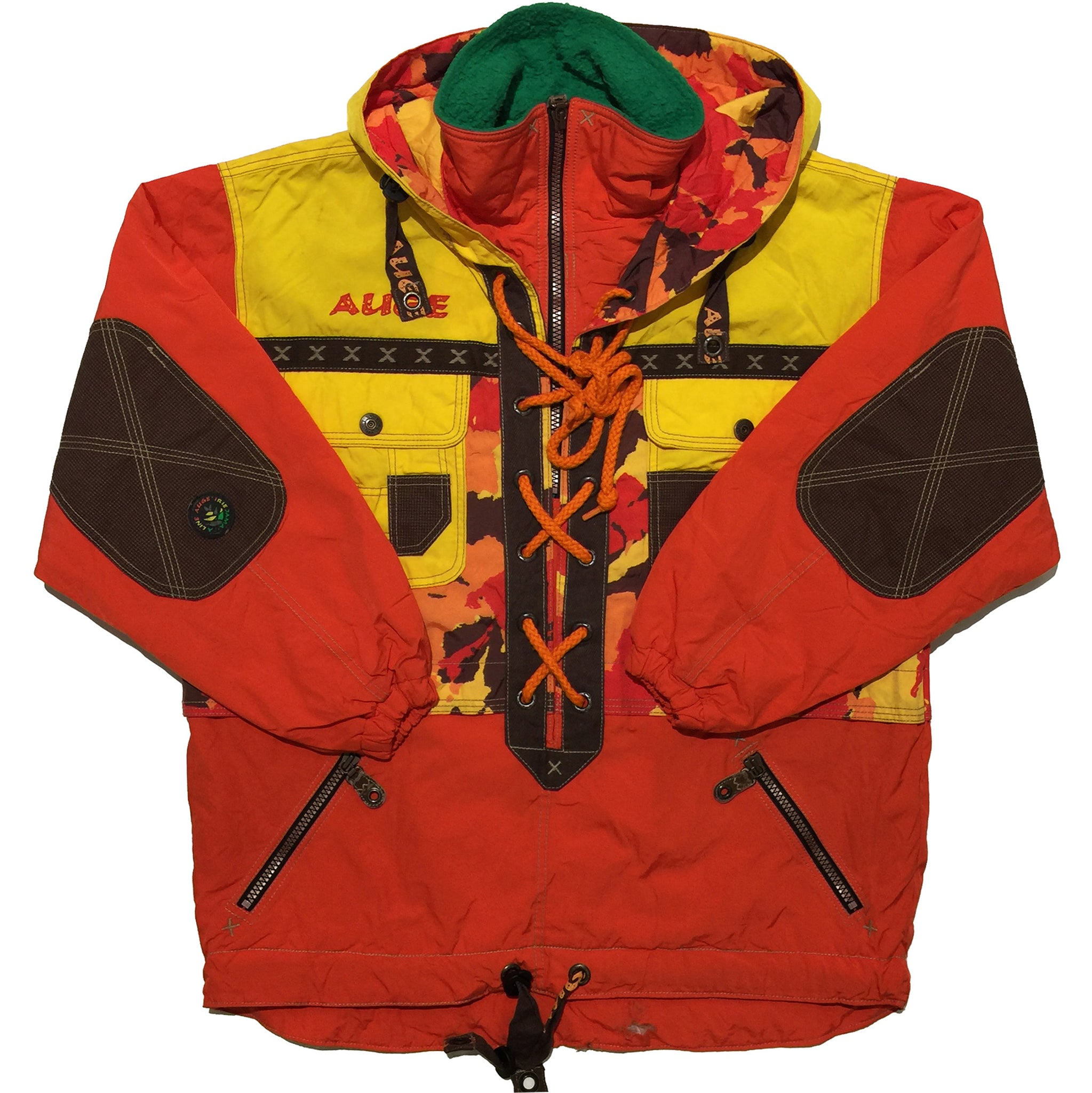 Goldwin Orange, Yellow String Closure Jacket