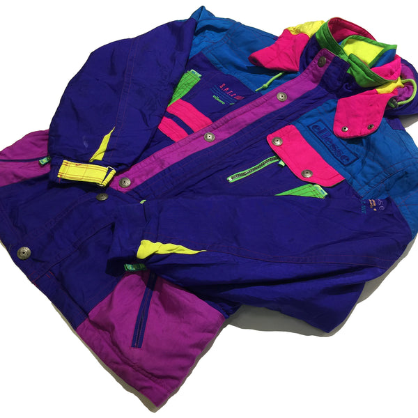 Ellesse Blue, Pink, Purple Jacket
