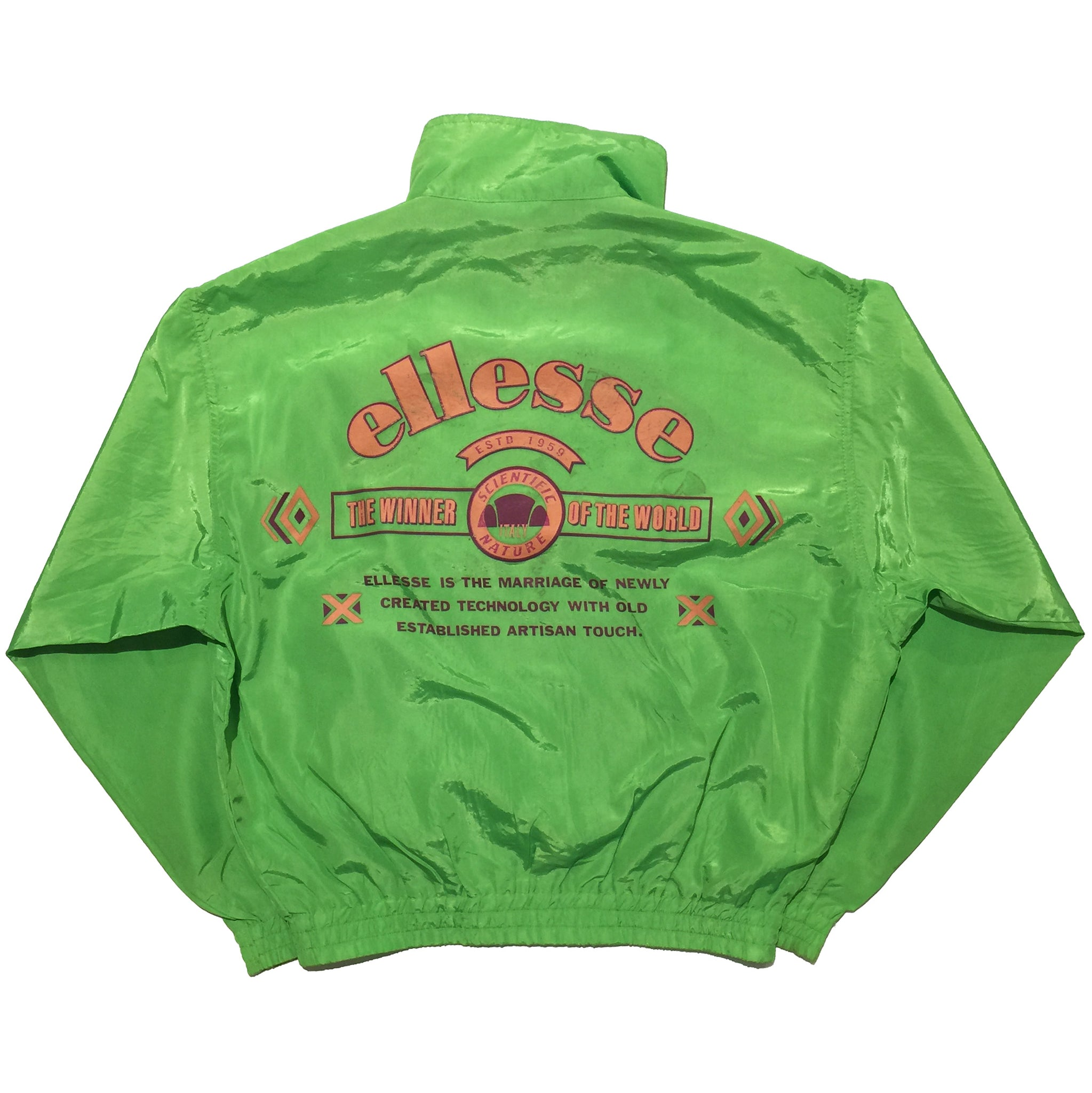 Ellesse Scientific Nature Green Jacket