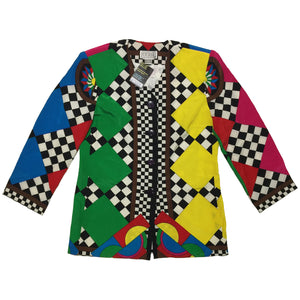 Mr. Jax Red, Yellow, Green, Blue Checkered Jacket